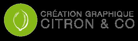 Logo Citron & co. Création graphique papier et web